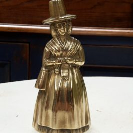Vintage Brass Welsh Lady Bell