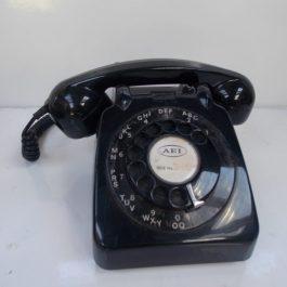 Vintage Rotary Telephone – Black