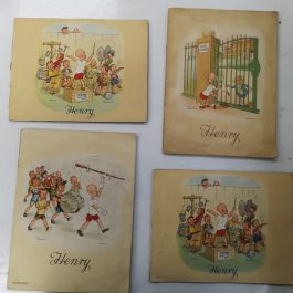 Collectable Antique set of Henry cigarette cards in album