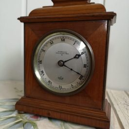 Elliott Clock, mahogany case