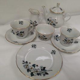 vintage czechoslovakia tea set TK Thun 27